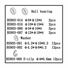 Ball Bearings (6*12*4)   2pcs ~