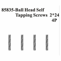 Ball head Self Tapping screws 2*24 4Pcs ~