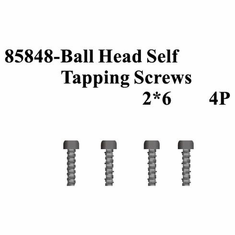 Ball Head Self Tapping Screws 2*6 4Pcs ~