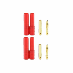 Banana 4.0 Plugs (Pack of 2, 1 male 1 female)