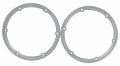 Bead Lock Ring, Aluminum, Set of 2