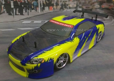 Blue Carbon Redcat Racing EPX RTR Electric RC Drift Cars Now With 2.4Ghz Radio!!!