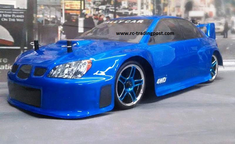 Blue Subaru Impreza Redcat Racing EP Brushless RTR Electric RC Street Cars Now With 2.4 GHZ Radio AND 2S Lipo Battery!!!