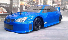 Blue Subaru Impreza Redcat Racing Thunder Drift Belt Drive RTR Electric RC Drift Cars Now With 2.4Ghz Radio!!!
