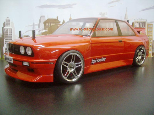 BMW M3 E30 Custom Painted RC Touring Car / RC Drift Car Body 200mm (Painted Body Only)
