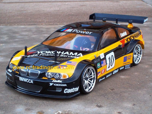 BMW M3 GT Custom Painted RC Touring Car / RC Drift Car Body 200mm (Painted Body Only)
