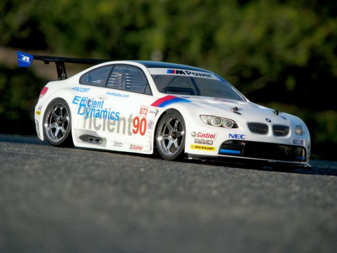 BMW M3 GT2 (E92) Custom Painted RC Touring Car / RC Drift Car Body 200mm (Painted Body Only)