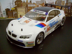 BMW M3 GT2 (E92) Redcat Racing EP Brushless RTR Custom Painted Electric RC Street Cars Now With 2.4 GHZ Radio AND 2S Lipo Battery!!!