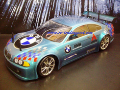 BMW M5 Custom Painted RC Touring Car / RC Drift Car Body 200mm (Painted Body Only)