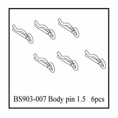 Body Pin 1.5mm (6pcs) ~
