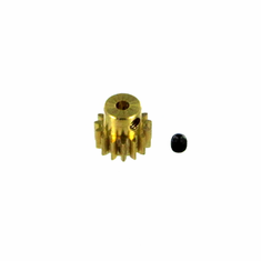 Brass Pinion Gear (15T, .8 module) ~