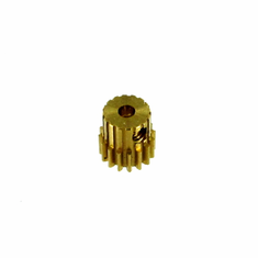 Brass Pinion Gear (16T, .6 module) ~