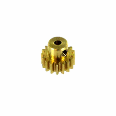 Brass Pinion Gear (17T, .8 module)