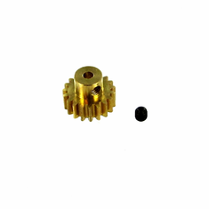 Brass Pinion Gear (19T, .6 module) ~