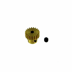 Brass Pinion Gear (20T, .6 module) ~