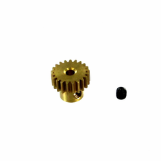Brass Pinion Gear (21T, .6 module) ~