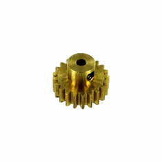 Brass Pinion Gear (21T, .8 module) ~