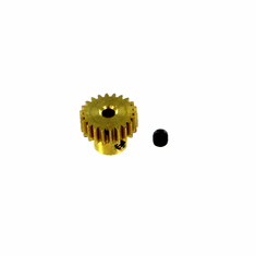 Brass Pinion Gear (22T, .6 module) ~