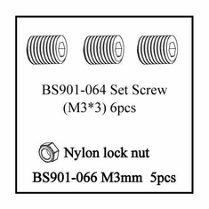 Grub (Set) Screw (M3*3)
