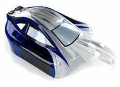 Buggy Body, Blue and Silver
