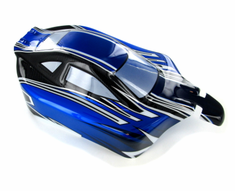 Buggy Body, Blue, Silver and Black