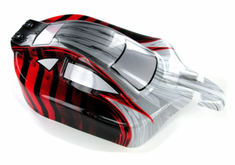 Buggy Body, Red and Silver
