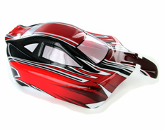 Buggy Body, Red, Black and Silver
