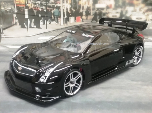 CADILLAC ATS-V.R Custom Painted RC Touring Car / RC Drift Car Body 200mm (Painted Body Only)