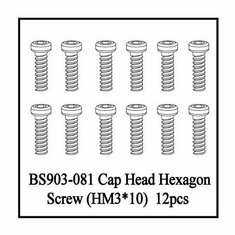 Column Head Hex Screw, 3*10mm ~