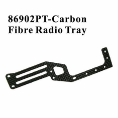 Carbon Fiber Radio Tray ~