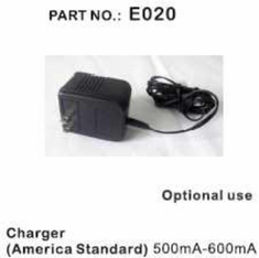 Wall Charger 7.2V  500Mah ~