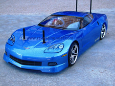 Chevrolet Corvette Custom Painted RC Touring Car / RC Drift Car Body 200mm (Painted Body Only)