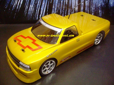 Chevrolet Silverado Custom Painted RC Touring Car / RC Drift Car Body 200mm (Painted Body Only)