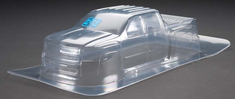 Clear RC Body Chevy Silverado 2500 HD Clear Body: Stampede by Pro-line Racing
