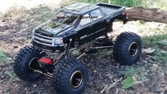 Chevy Silverado 2500 HD Redcat Everest 10 4X4 1/10th Electric RC Rock Crawler Ready To Run Custom Painted With 2.4Ghz Radio And Waterproof Electronics