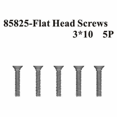 Countersunk Hex Screws 3*10 5Pcs ~