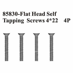Countersunk Hex. Self Tapping Screws 4*22 4Pcs ~