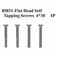 Countersunk Hex Self-Tapping Screws, 4*30 (4pcs) ~