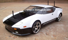 De Tomaso Pantera Redcat Racing EP Brushless RTR Custom Painted Electric RC Street Cars Now With 2.4 GHZ Radio AND 2S Lipo Battery!!!