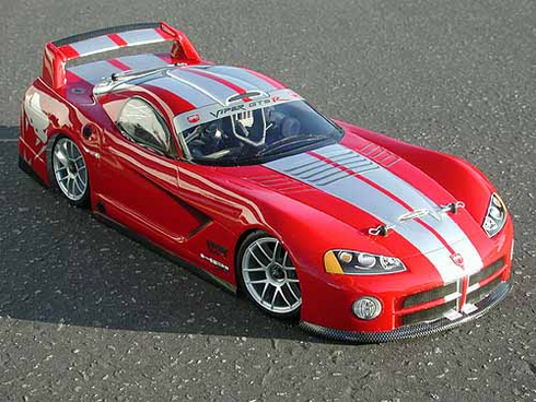 Dodge VIper GTS-R Custom Painted RC Touring Car / RC Drift Car Body 200mm (Painted Body Only)