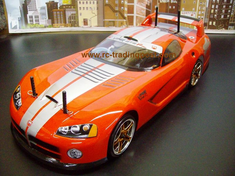 Dodge VIper GTS-R Redcat Racing EPX RTR Custom Painted Electric RC Drift Cars Now With 2.4Ghz Radio!!!