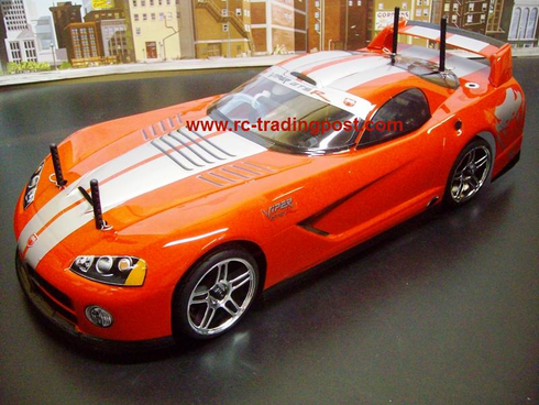 Dodge VIper GTS-R Redcat Racing EPX RTR Custom Painted Electric RC Street Cars Now With 2.4Ghz Radio!!!