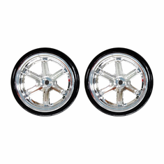 Drift Wheels, Chrome (2 pcs)