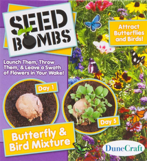 DuneCraft Butterfly/Bird Mix Seed Bomb