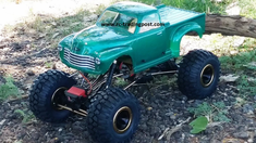 Early '50s Chevy Pickup Redcat Everest 10 4X4 1/10th Electric RC Rock Crawler Ready To Run Custom Painted With 2.4Ghz Radio And Waterproof Electronics
