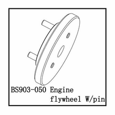 Engine Flywheel W/Pin ~