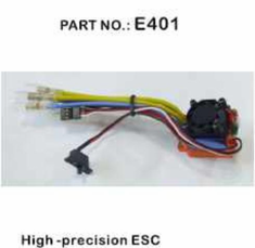ESC, Programmable (for crawler use only) ~