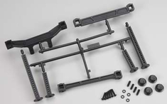 Extended Front and Rear Body Mounts:SLH 2WD by Pro-line Racing