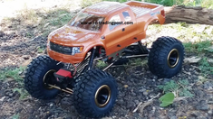 Ford F-150 SVT Raptor Redcat Everest 10 4X4 1/10th Electric RC Rock Crawler Ready To Run Custom Painted With 2.4Ghz Radio And Waterproof Electronics