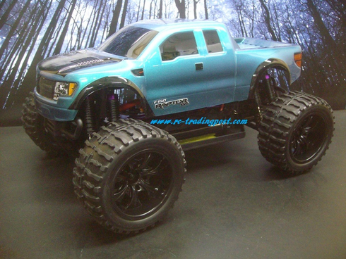 Ford F-150 SVT Raptor Redcat Volcano EPX 4X4 1/10th 20+MPH Electric RC Monster Truck Ready To Run Custom Painted With 2.4Ghz Radio And Waterproof Electronics